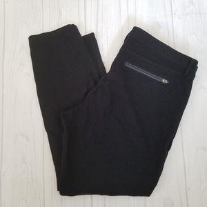 Banana Republic Sloan Fit Black Career Wear Pants